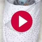 Babynest Schneechen - Gesamtansicht Stoff 2