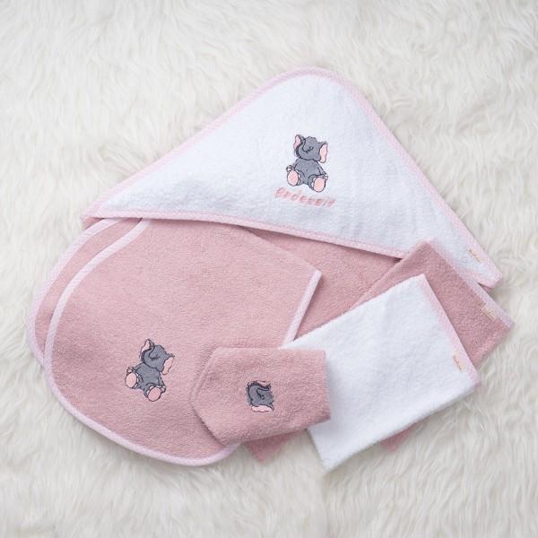 Willkommen Baby-Set rosa